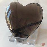 Stort hjärta i lamellobsidian