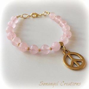 Armband Peace & love