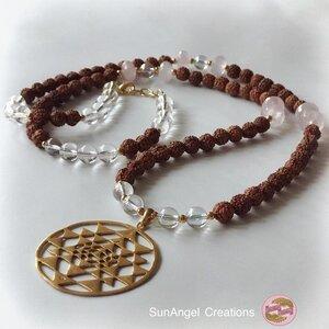 Halsband ~ Spirit of Sri Yantra ~