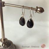 Onyx-örhängen