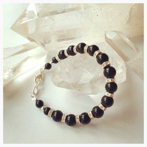 Onyx-armband