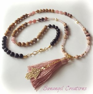 Halsband - mala - peaceful spirit